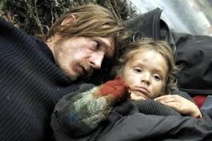 Le père à l'enfant... (Versailles, Pierre Schoeller, 2007)