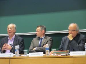 Claude Bontems, Xavier Perrot et Pascal Texier aux 34e JHD, Limoges, juiin 2015 (photo de Stéphane Boiron)