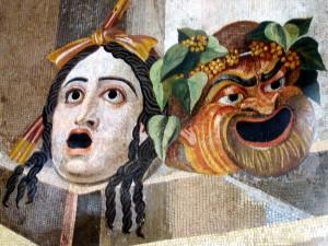 photographie des mosaïques, art romain, Musée du capitole (Rome), CC PD-Art